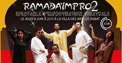 Ramada'impro 2 de la C.I.R - Rabat