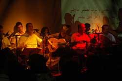 Ensemble Sidi Thami Mdaghri et Simo Baazaoui Guitarre flamenco - Rabat