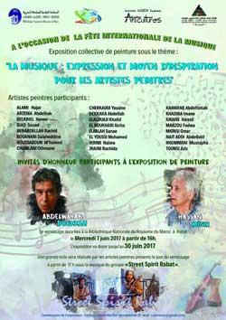 Fête de la musique et exposition collective - Rabat