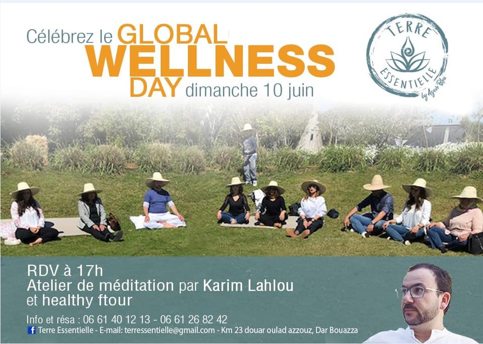 Healthy Ftour and Meditation - Casablanca